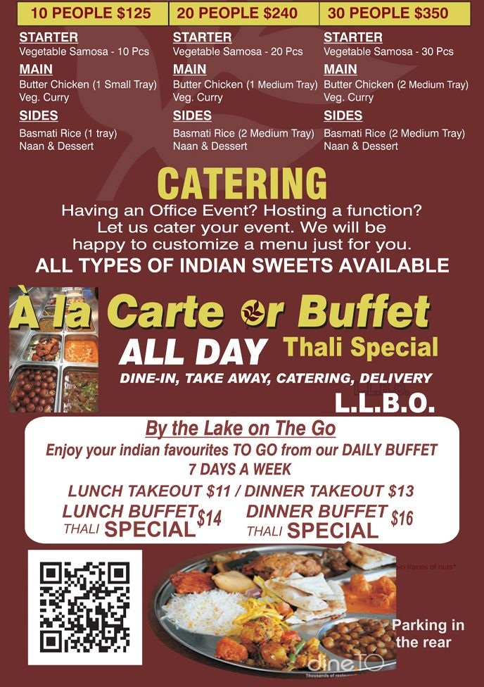 As the best Indian buffet in Mississauga, we are providing ...