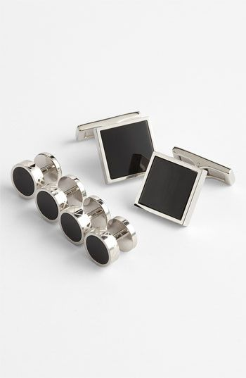 Burberry Cuff Links & Shirt Stud Set available at #Nordstrom