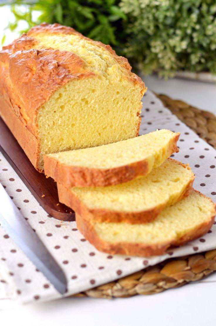 Pane in cassetta al formaggio spalmabile senza lievitazione