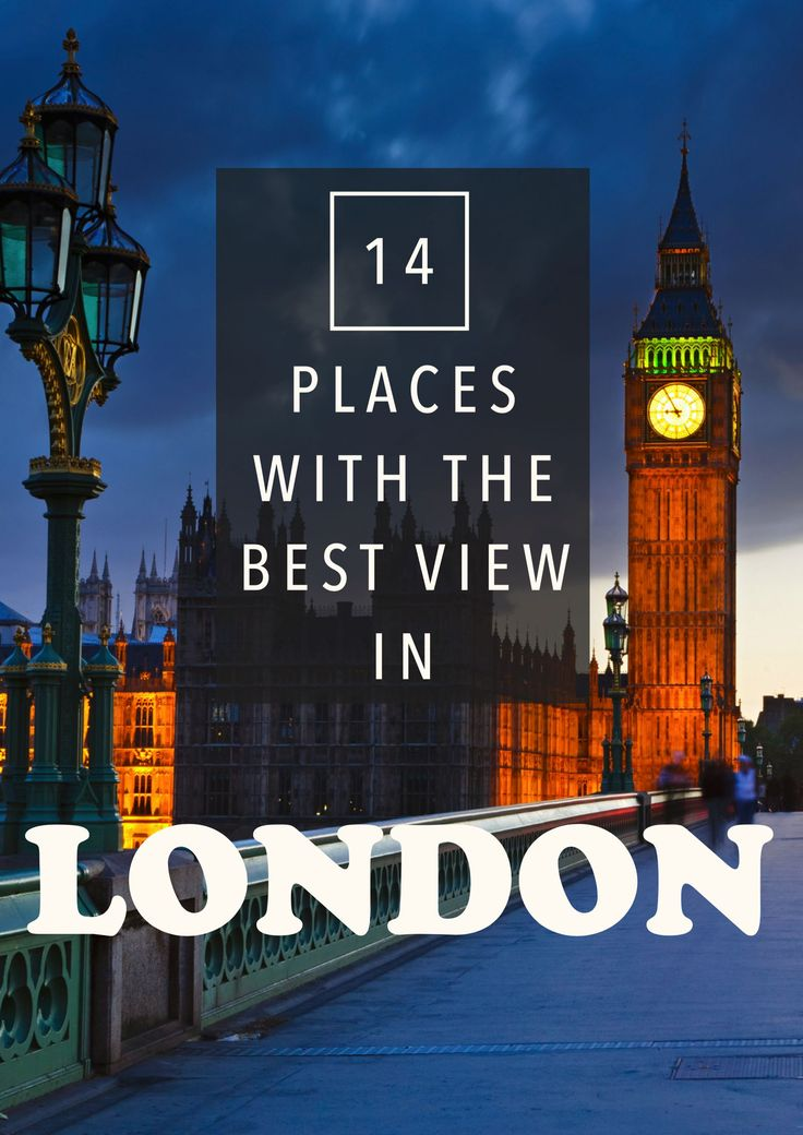 14 Places With The Best Views Of London & All You Need To Know About Visiting These Places! - Hand Luggage Only - Travel, Food & Photography Blog