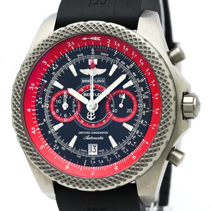 #breitling Bentley Automatic Titanium Men's Sports Watch E27365