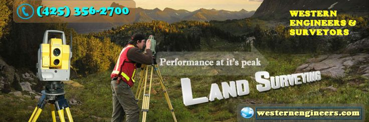 Western engineers & surveyors experienced professionals and licensed land surveyors is equipped to perform all types of land surveys accurately and efficiently. For immediate assistance, call: (425) 356-2700 or visit us: www.westernengineers.com