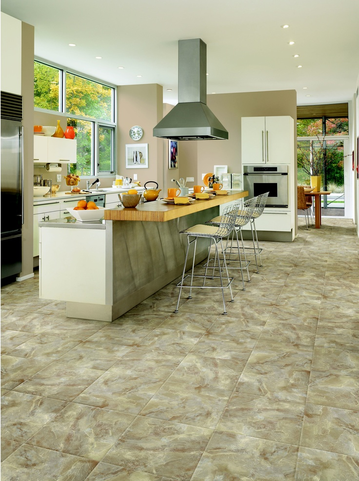 14 best images about congoleum duraceramic luxury at its for Luxury kitchen flooring