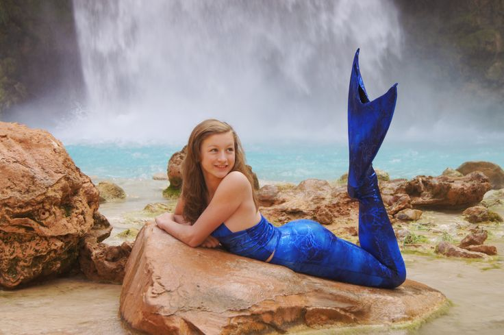 Blue Mermaid Tail For Kids Galleryhipcom The Hippest