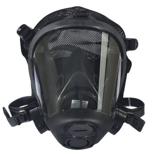 Survivair 763100 Opti Fit Tactical Gas Mask Facepiece with Mesh Headnet - SafetyCompany.com