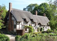 No visit to England is complete without the tourist trip to Stratford-upon-Avon (Warwickshire, England).  For all things Shakespeare, this is the place
