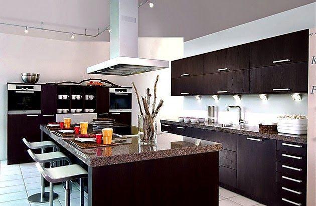 Cocina Moderna Acero Inoxidable Decoracion De Cocina Moderna Diseno Cocinas Modernas Cocinas Modernas Grandes