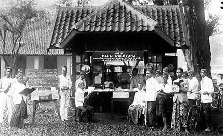 Kios Balai Pustaka, Purwokerto 1928