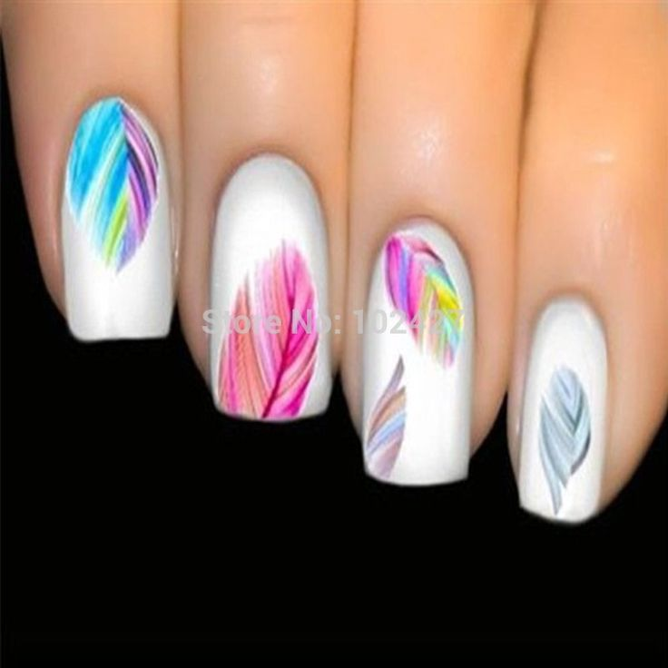 Vendita calda della signora donne bellezza piuma nail art water transfer nail art stickers suggerimenti piuma decalcomanie del chiodo strumenti di arte in 1 Sheet Hot Anchor Leopard Cartoon Full Cover Nail Sticker Water Transfer Foils Flowers Design Nail Sticker ToolsUSD 0.da Adesivi e decalcomanie su AliExpress.com | Gruppo Alibaba