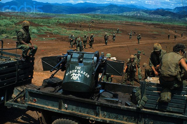 04 Jul 1968 -The Day my husband left Khe Sanh Jim Hennes Corpsman: Hotel Company, 2nd battalion, 26th marine regiment, 3rd Marine Division PHOTO: Khe Sanh, South Vietnam - The last contingent of Khe Sanh-based Marines prepares to board trucks for evacuation from this bastion July 4th. The Marines have now completely pulled out of this base after 77 days. --- Image by © Bettmann/CORBIS