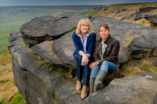 Last Tango in Halifax  actresses Sarah Lancashire as Caroline and Nicola Walker as Gillian   ( Google )