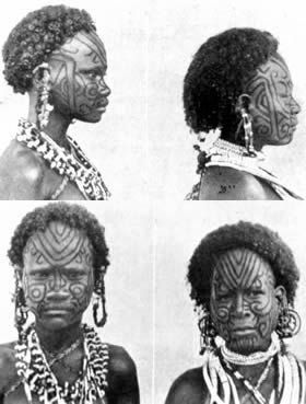 1000 ideas about women tribal tattoos on pinterest for Where do tattoos come from