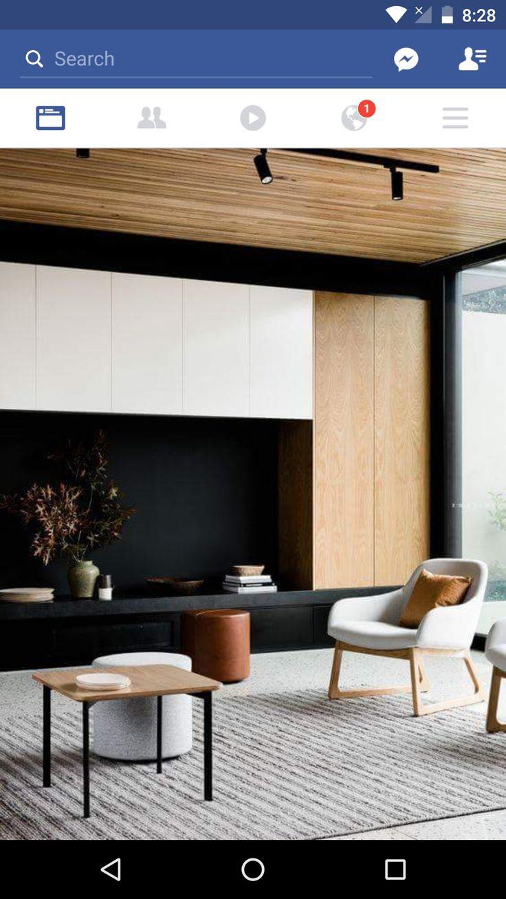 Minimalist Living Rooms Modern Minimalist Joinery Living