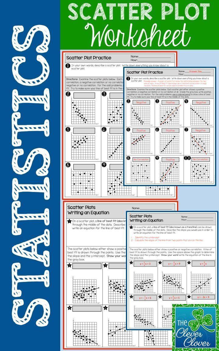 Scatter Plot Worksheets 5th Grade Scatter Plot Worksheet In 2020 Scatter Plot Worksheet Scatter Plot 5th Grade Worksheets