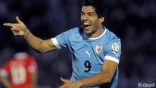 Luis Suarez won the 2011 Copa Libatadores with Uruguay