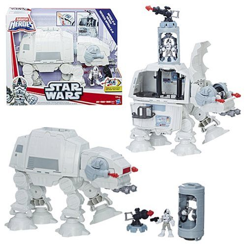 Star Wars Galactic Heroes Imperial AT-AT Fortress - Hasbro - Star Wars - Vehicles at Entertainment Earth