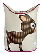 Panier à Linge, Chevreuil, Marron/Laundry Hamper, Deer, Brown