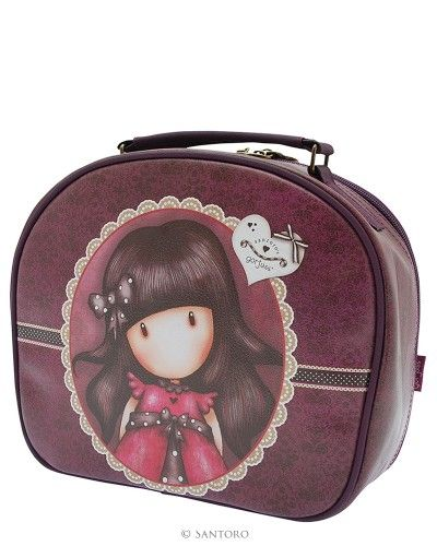 Gorjuss Large Vanity Case - Ladybird