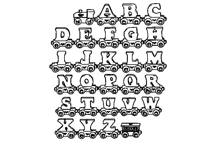 Cool toys Alphabet Letters A to Z