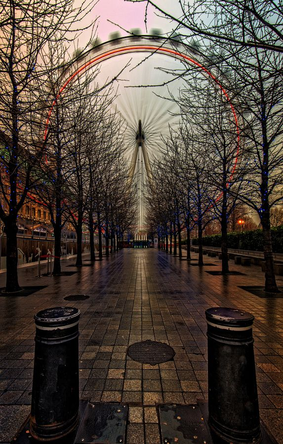 Moons And Junes And Ferris Wheels (London, England) by The Narratographer  / 500px