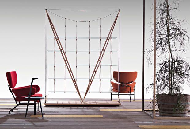 Veliero Bookshelf by Franco Albini