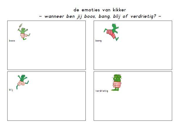 thema emoties - Google zoeken