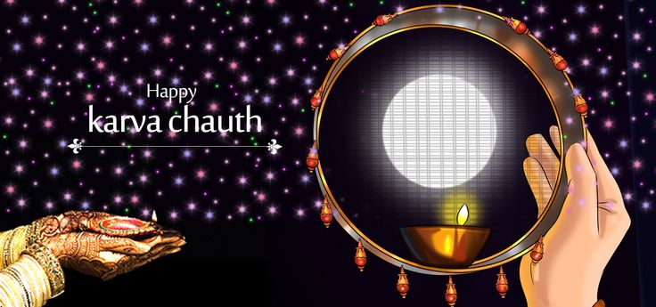 Karva Chauth is celebrated on the fourth day of the fading moon fortnight, Krishna paksha.  Know more about the celebration of #KarvaChauth  in the #blog .  #BringHomeFestival