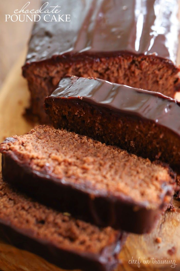 Tina's handicraft : CHOCOLATE POUND CAKE
