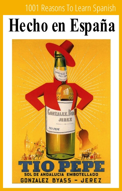 Spain. Tio Pepe. Sol de Andalucia embotellado (Andalucia's sun in a bottle), Sherry, Jerez, 1950s