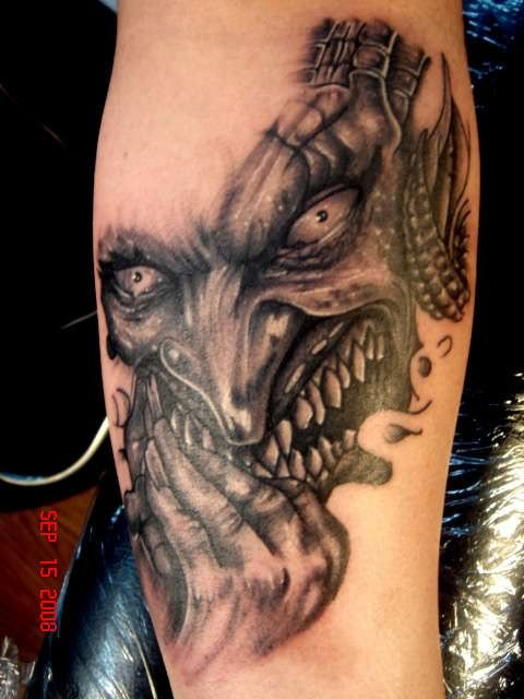 Scary Tattoo Pictures