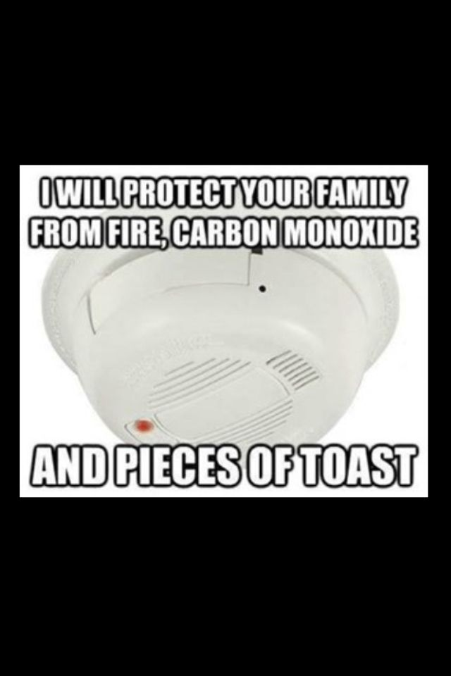ok last time i made toast it did this and i am forever grateful to my alarm for sending the fire men to my house. get how stupid i felt explaining??? lol