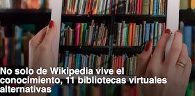 La web Genbeta ha recopilado once bibliotecas virtuales alternativas . Muy útiles e interesantes.