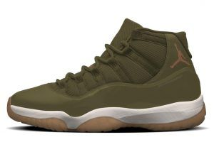 "104106cce471c5 Air Jordan 11 ""Neutral Olive"" will be expanding for women"