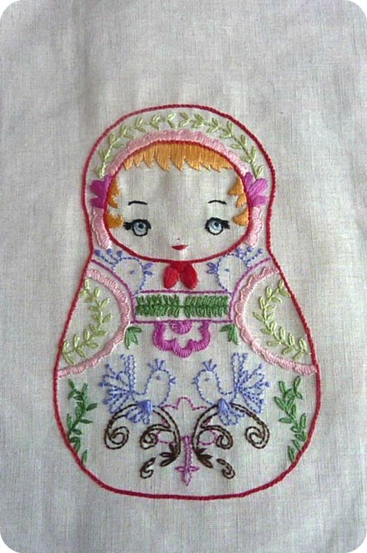 17 best images about russian matryoshka dolls on pinterest - Broderie traditionnelle grille gratuite ...