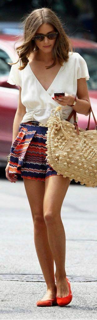 The skirt could be a smidge longer and I kinda hate the bag, but this is a great look.