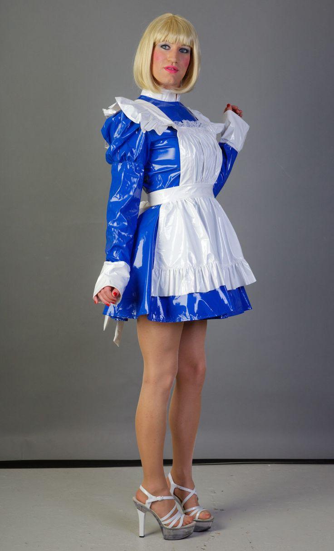 Zofen Kleid und Dienstmdchen french maid Uniform mit viel