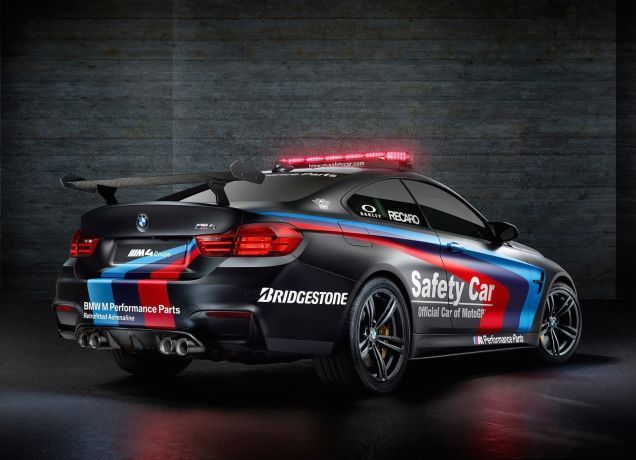 BMW May Have Just Made The Most Sinister-Looking Safety Car Ever -- M4 Coupe