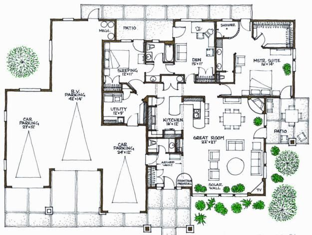 1000 images about passive solar on pinterest for Solar efficient house design
