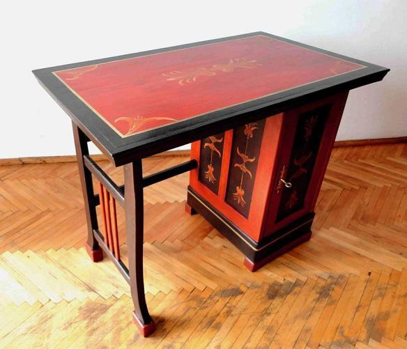painted furniture ... Romanian designer