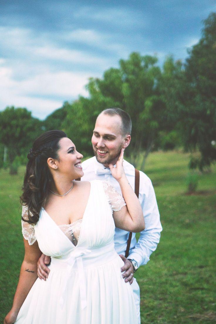 Wedding photo, young love, Parisian dress inspired, hipster wedding