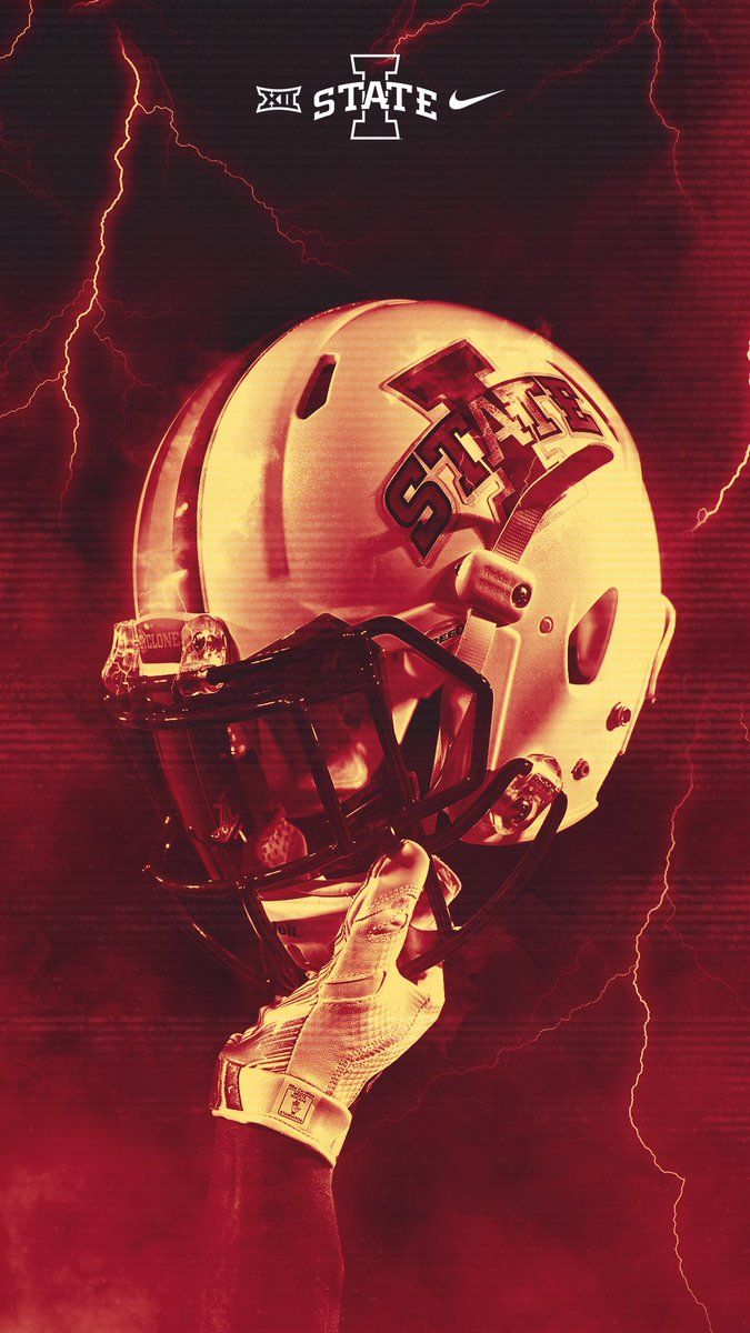Iowa State Iowa Football Football Helmet Design Iowa State Football