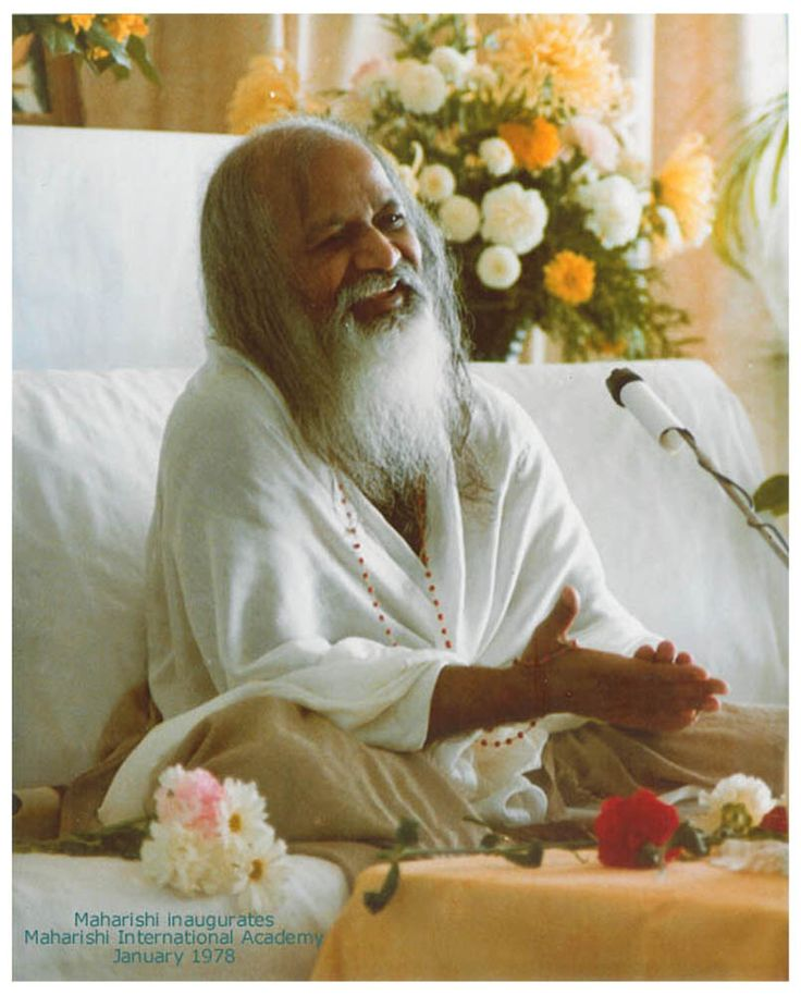 """The whole purpose of life is to gain enlightenment. Nothing else is significant compared to that completely natural, exalted state of consciousness. So always strive for that. Set your life around that goal. Don't get caught up in small things, and then it will be yours.""—His Holiness Maharishi Mahesh Yogi"