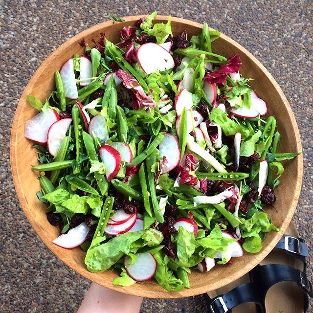 Bulk salad 🌱 #eatmoreplants