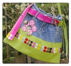 couture facile réaliser un sac denfant avec un jean patron gratuit tutoriel couture enfant sac, fév. 2011