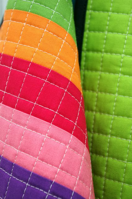 Different way to quilt using walking foot