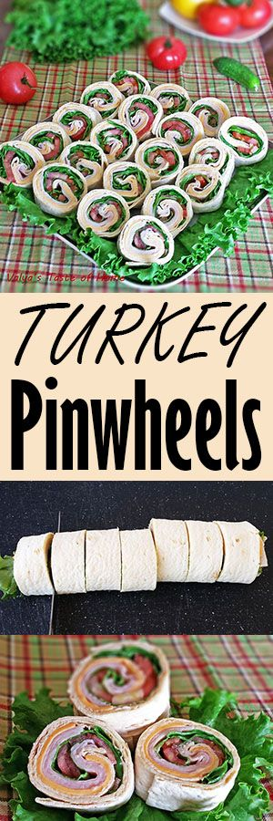 This Turkey Pinwheel recipe is great, healthy with vitamins, protein, fiber and…