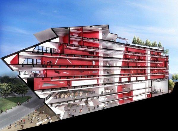 Die 25+ Besten Ideen Zu Bernaqua Auf Pinterest | Daniel Libeskind ... Spa Und Wellness Zentren Kreative Architektur