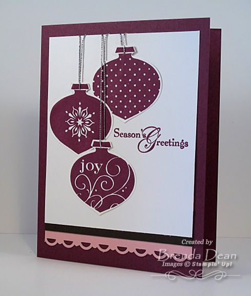Delightful Decorations by bdindle - Cards and Paper Crafts at Splitcoaststampers