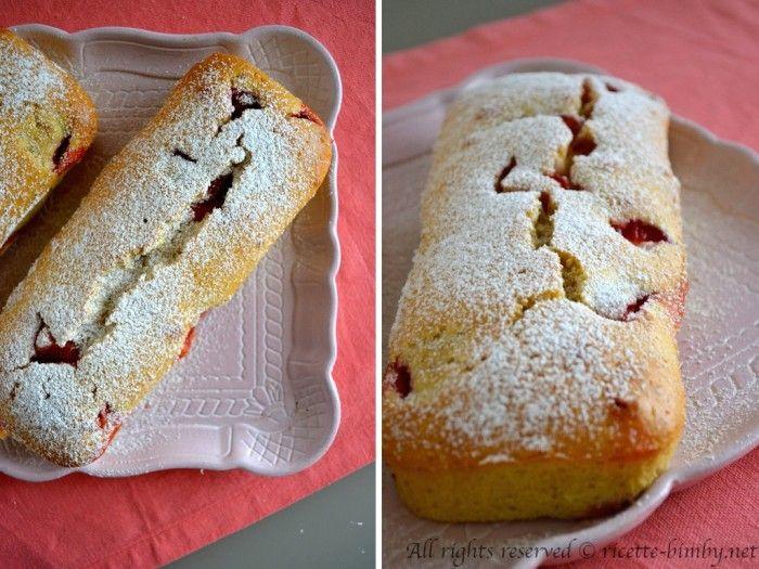 Plum cake alle fragole Bimby