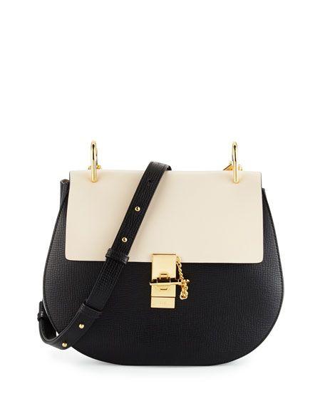 Chloe Drew Medium Grain Leather Should Bag